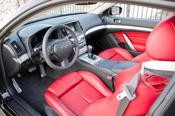 Infiniti IPL G Coupe interior